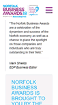 Mobile Preview of edpbusinessawards.co.uk