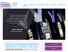 Tablet Preview of edpbusinessawards.co.uk